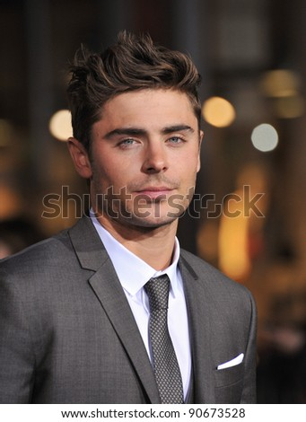 "Zac Efron at the world premiere of his new movie ""New Year's Eve"" at Grauman's Chinese Theatre, Hollywood. December 5, 2011  Los Angeles, CA Picture: Paul Smith / Featureflash"