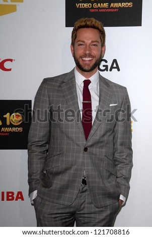 Zachary Levi at Spike TV`S Video Game Awards 2012, Sony Pictures Studios, Culver City, CA 12-07-12 David Edwards/DailyCeleb.com 818-249-4998 - stock photo