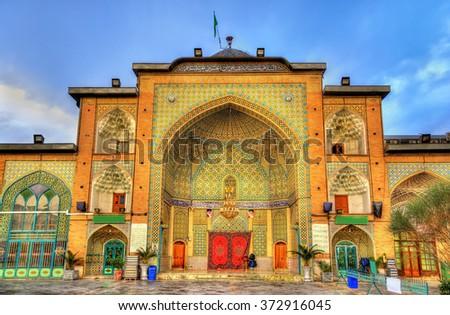 Zaid Mosque in Tehran Grand Bazaar - Iran Stock fotó ©