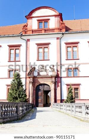 Zakupy Castle, Czech Republic Zdjęcia stock ©