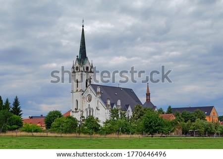Zakupy Church of Saints Fabian and Sebestian Zdjęcia stock ©