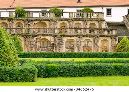 Zakupy palace garden Zdjęcia stock ©