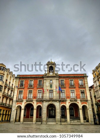 Zamora town hall. Spain   #1057349984