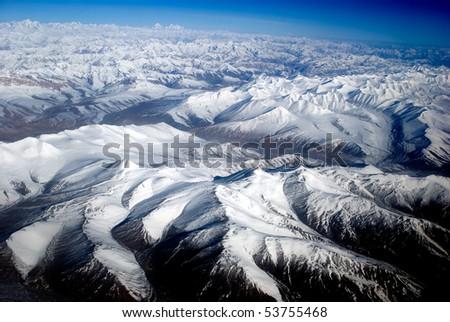 Zanskar Range, Ladakh, India - stock photo