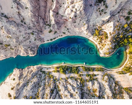 Zavratnica is a 900 m long narrow inlet located at the foot of the mighty Velebit Mountains, in the northern part of the Adriatic Sea.