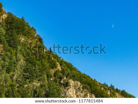 zbocza gór nad Trasą Transfogarska, Karpaty, Rumunia #1177815484