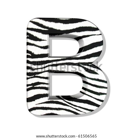 Animal Print Letters Font http://www.shutterstock.com/pic-61506565/stock-photo-zebra-font-vol.html