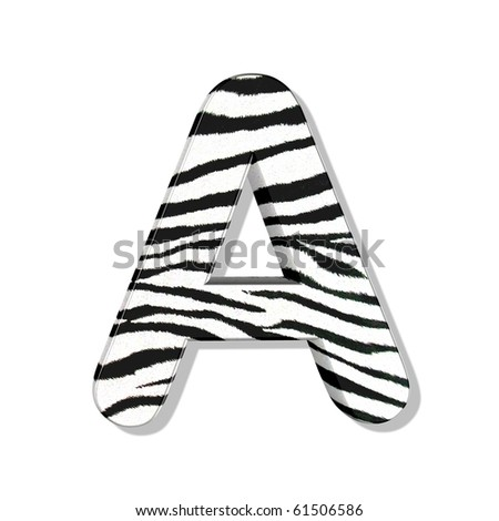 Animal Print Letters Font http://www.shutterstock.com/pic-61506586/stock-photo-zebra-font-vol.html