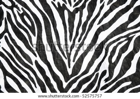 zebra print useful as a background or pattern