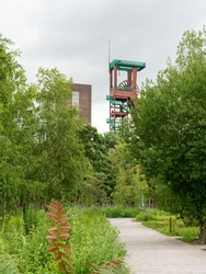 Zeche Zollverein is a decommissioned industrial hard coal mine complex in Essen, Germany.
