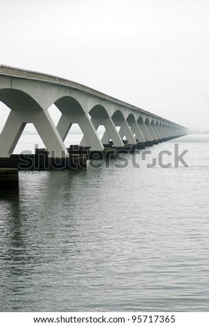 Zeeland bridge (Netherlands)