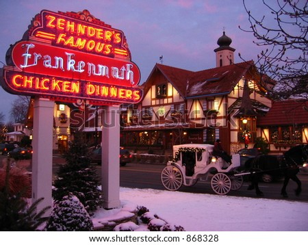 Zehnder's Sign - Frankenmuth, Michigan