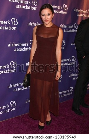 "Zelda Williams at the 21st Annual ""A Night at Sardi's"" to Benefit the Alzheimer's Association, Beverly Hilton, Beverly Hills, CA 03-20-13"