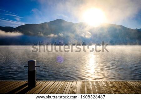 zeller see (zeller lake) in austria