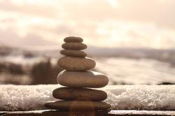 Zen Balancing Stones - Stone Sculpture