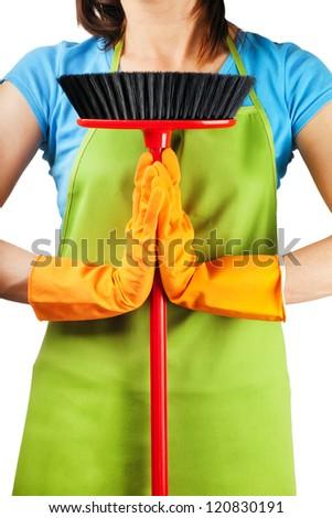 zen cleaning - stock photo