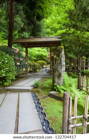 Zen Garden and Portland Japanese Garden