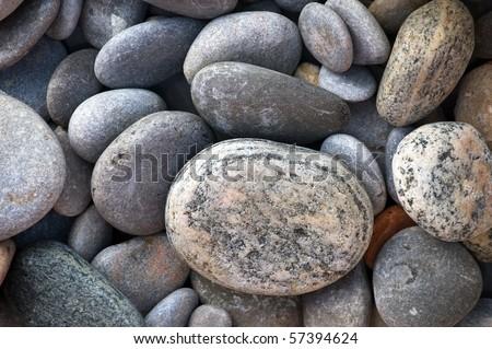 zen-like pebbles nature background