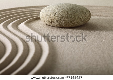 zen rock garden japanese garden zen stone with raked sand and round stone tranquility and balance ripples sand pattern spa relaxation