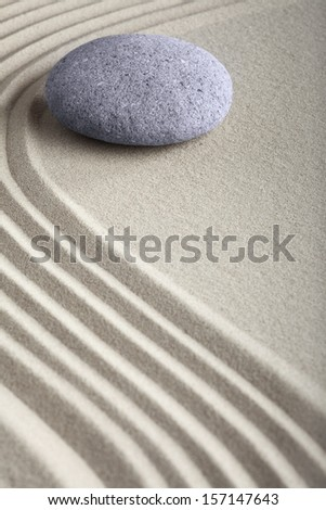 zen sand stone garden japanese meditation relaxation and spa image spiritual balance round rock