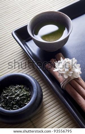 zen style green tea