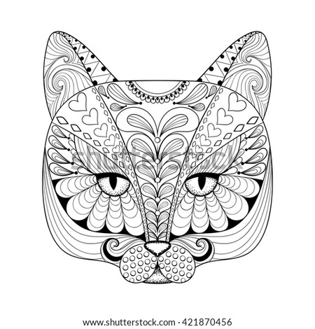 Bullterier Coloring Page Animals Stock Photo 324952385