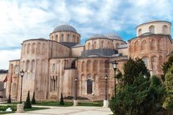 Zeyrek Mosque or the Pantocrator Monastery after completion of restoration