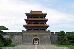 Zhaoling tomb in Shenyang, China