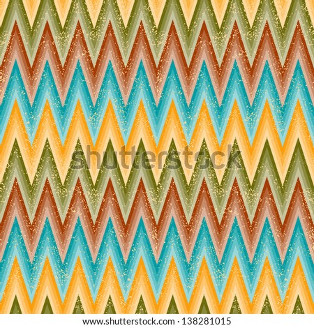 Zig-zag background. Seamless pattern. Raster version, vector file available in portfolio.