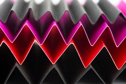 Zig Zag fold paper texture. Zigzag paper abstract background. Macro photography.