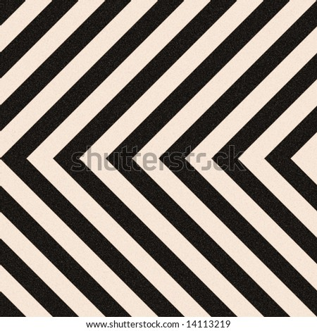Zig zag hazard stripes texture that is weathered, worn and grunge-looking.  Tiles seamlessly as a pattern in any direction.