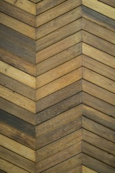 Zig zag wooden background