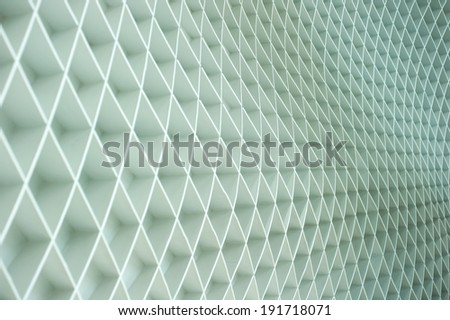Zigzag line on the wall