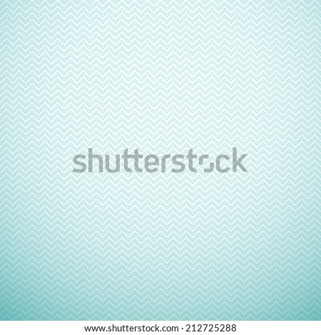 Zigzag pattern. Illustration. Aqua, blue and white colors. Retro delicate chevron cloth texture background. Book and wall cover.