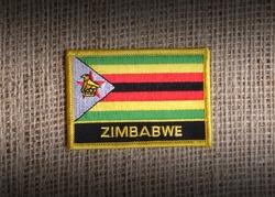 Zimbabwean flag.