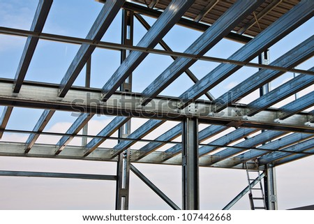 Zinc steel structure of light floor