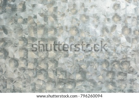 Zinc texture or background