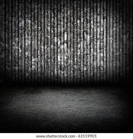 Zinc wall.