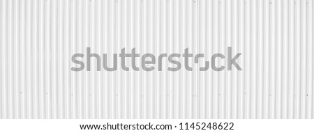 Zinc wall background, Zinc metal sheets texture background. Image size for panoramic banner. Сток-фото ©