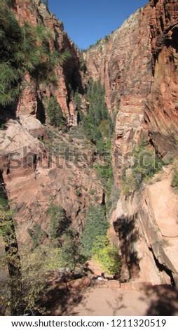 Zion National Park Angels Landing #1211320519