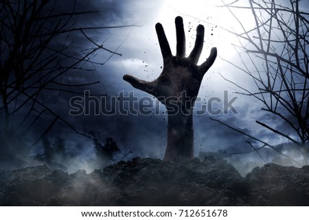 Zombie hand #712651678