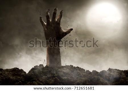 Zombie hand #712651681