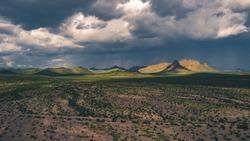 Zona del silencio in Durango