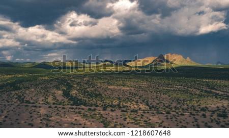Zona del silencio in Durango Foto stock ©