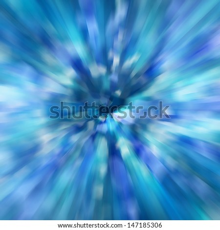 zoom speed of light abstract background