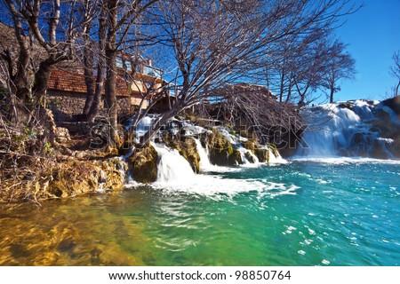 Zrmanija river near Zadar, Croatia