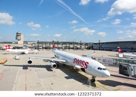 LONDON, UK, MAY 29: British Airways… Stock Photo 493312975
