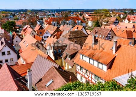 Map Zwingenberg Germany.Shutterstock Puzzlepix