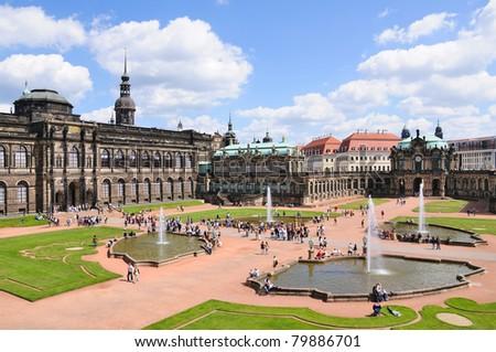 Zwinger - Dresden, Germany