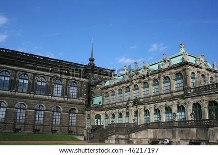 Zwinger in Dresden Germany